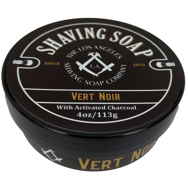 LA Shaving Soap Co. Vert Noir Shaving Soap