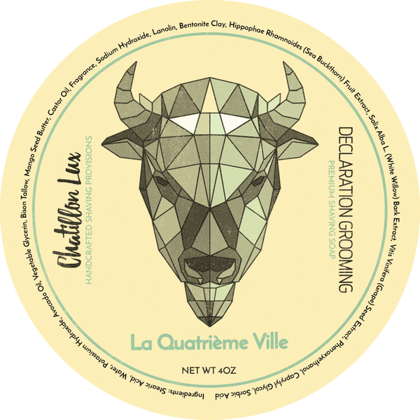 Declaration Grooming/Chatillon Lux La Quatrieme Ville Shaving Soap
