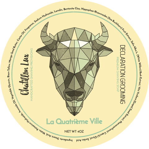 Declaration Grooming La Quatrieme Ville Shaving Soap