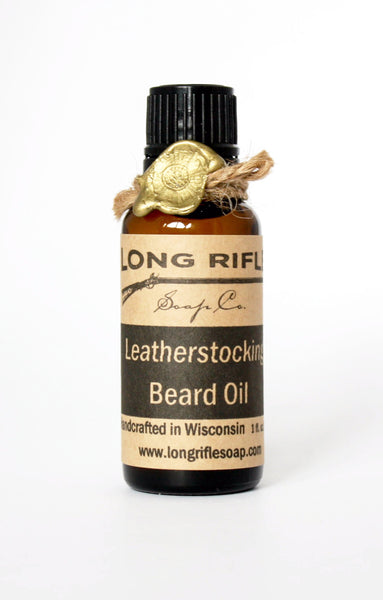 Long Rifle Leatherstocking Beard Oil