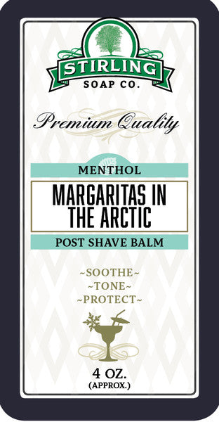 Stirling Margaritas in the Arctic Aftershave Balm