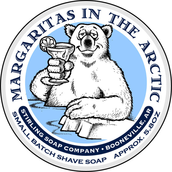 Stirling Soap Co. Margaritas in the Arctic Shave Soap