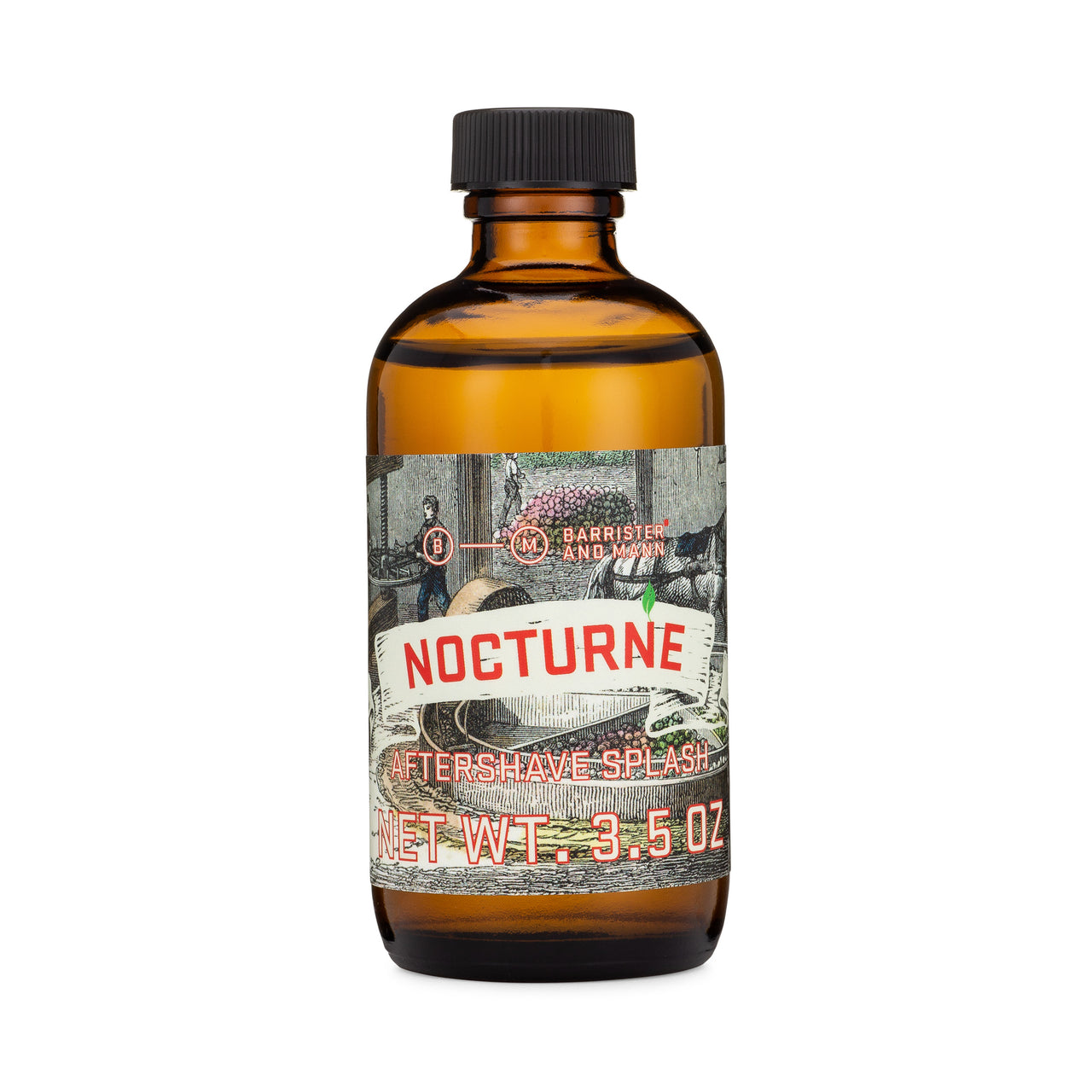 Barrister and Mann Nocturne Alcohol Aftershave Splash