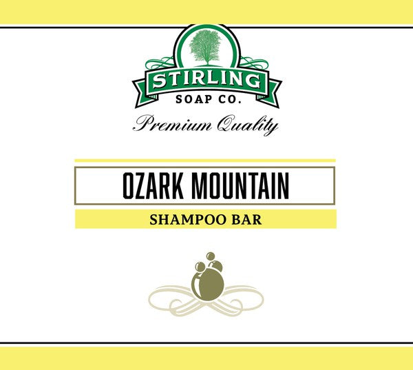 Stirling Ozark Mountain Shampoo Bar