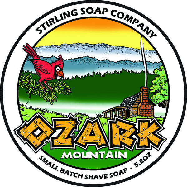 Stirling Soap Co. Ozark Mountain Shave Soap