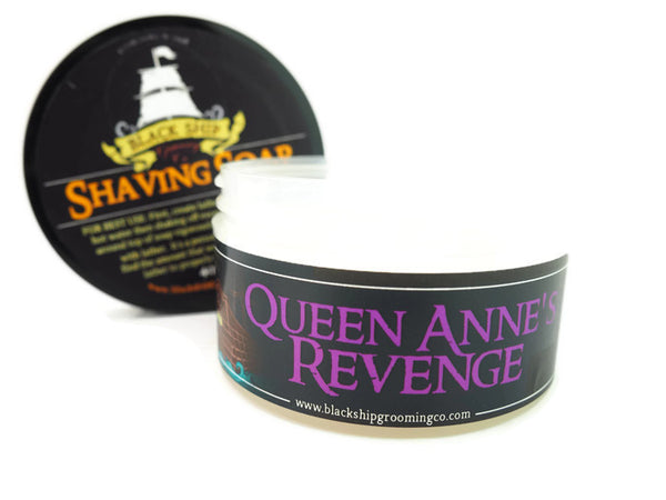 Black Ship Grooming Co. Queen Anne's Revenge Shaving Soap