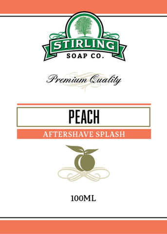 Stirling Peach Aftershave Splash