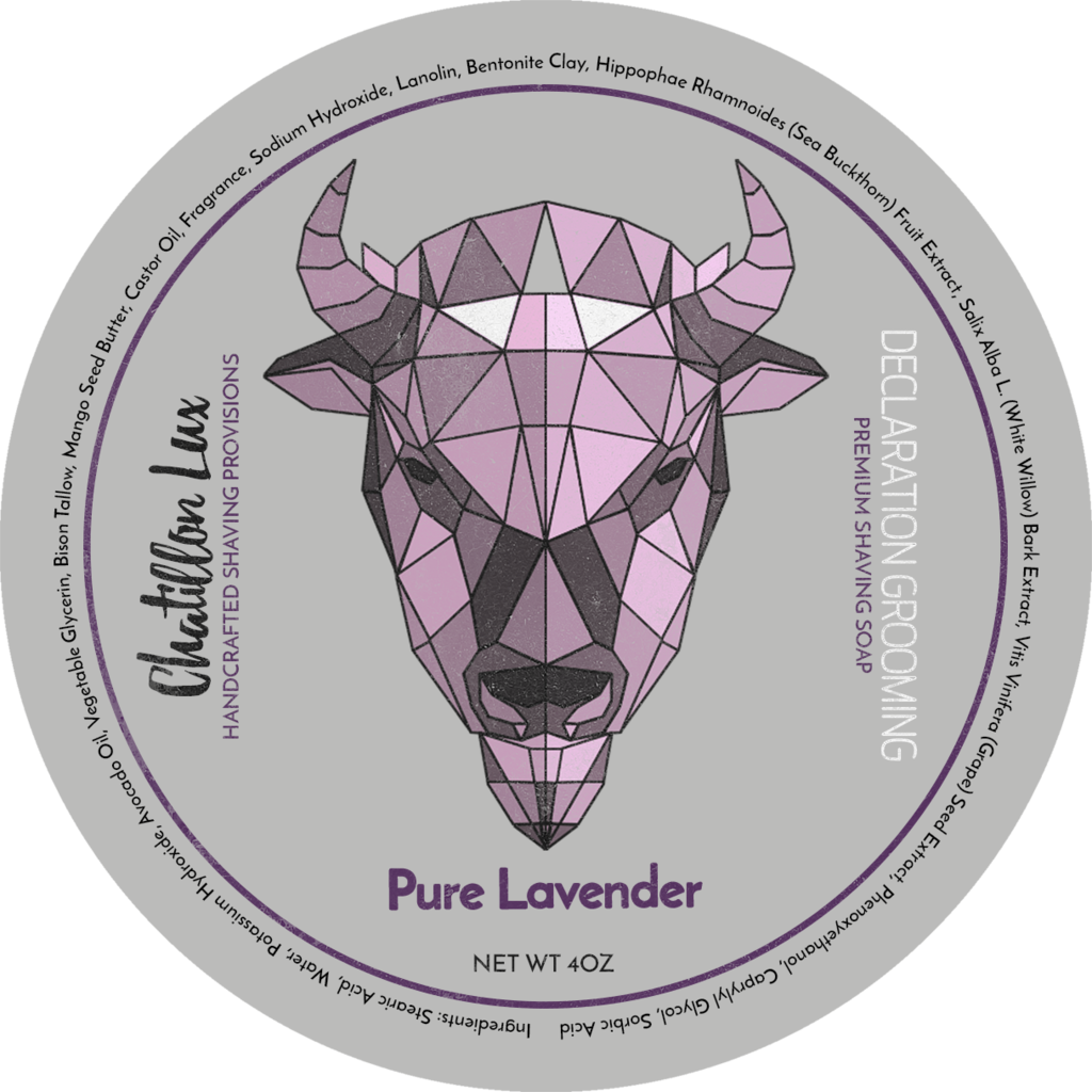 Declaration Grooming/Chatillon Lux Pure Lavender Shaving Soap