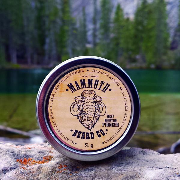 Mammoth Beard Co. Rocky Mountain Pioneer Beard Balm
