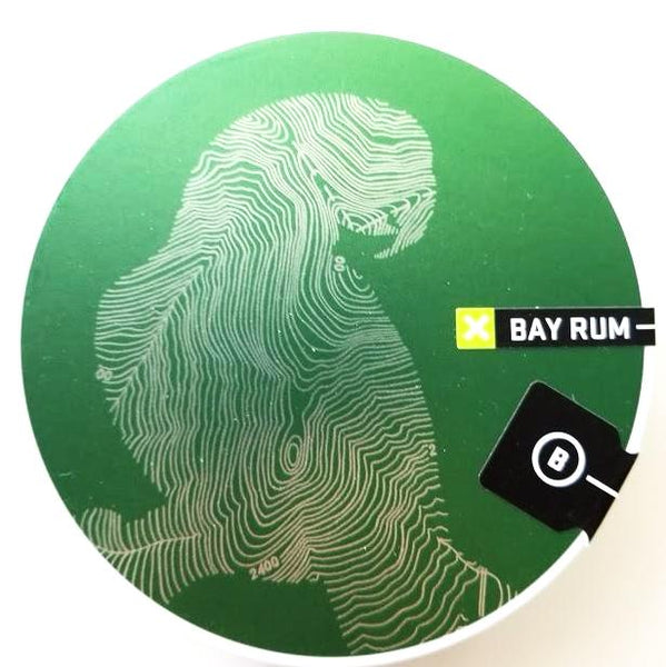 Barrister and Mann Bay Rum Glissant Shaving Soap