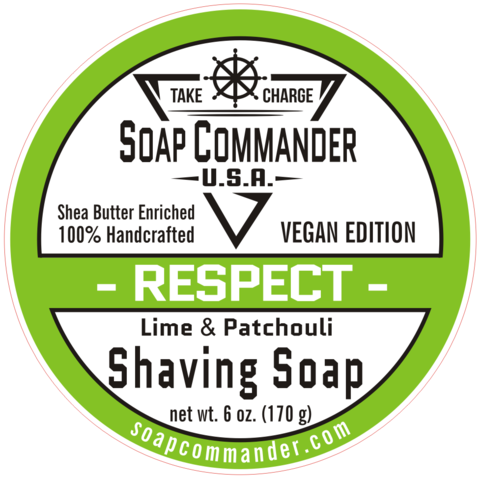 Soap Commander Respect Shaving Soap