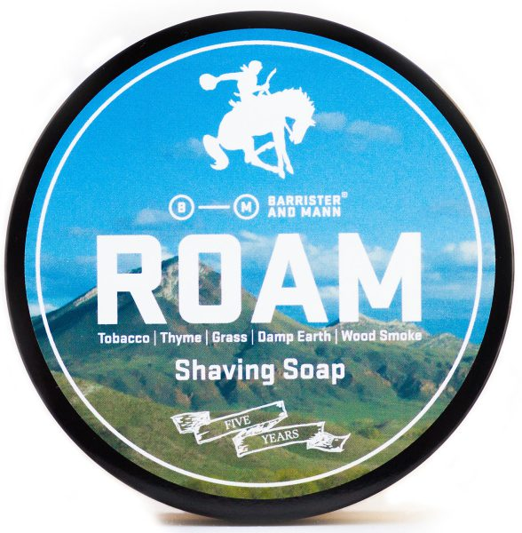 Barrister and Mann Roam Limited Edition Shaving Soap