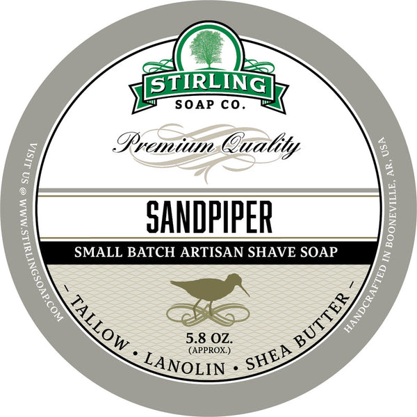 Stirling Soap Co. Sandpiper Shave Soap