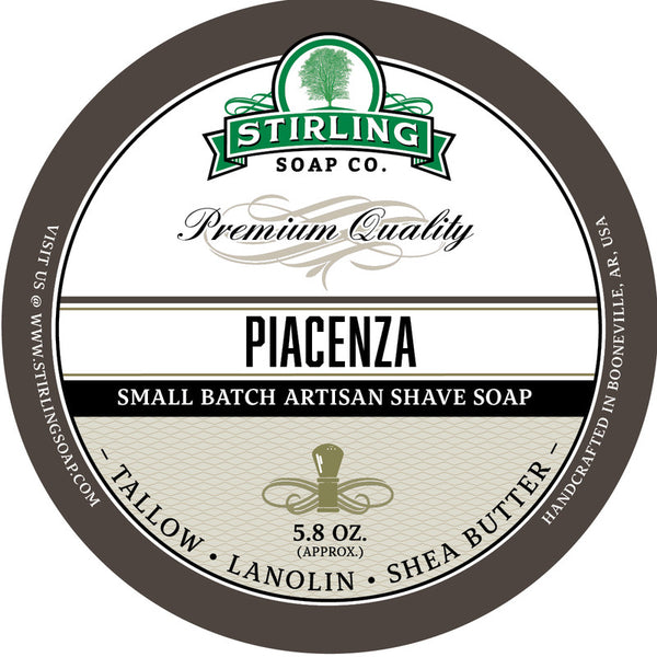 Stirling Soap Co. Piacenza Shave Soap