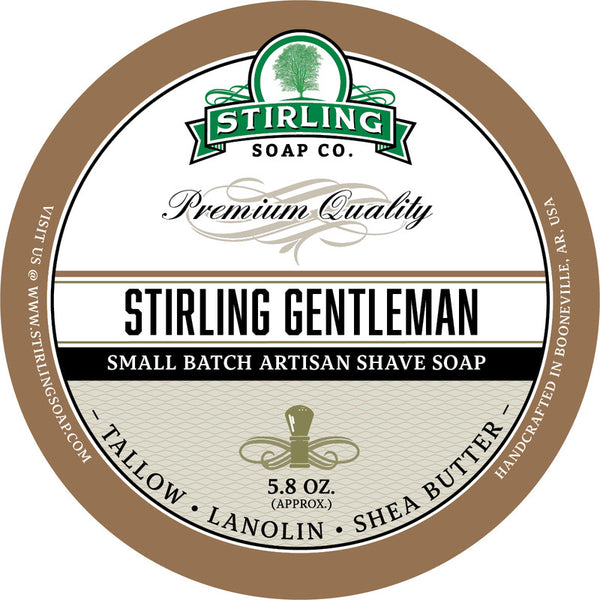 Stirling Soap Co. Stirling Gentleman Shave Soap