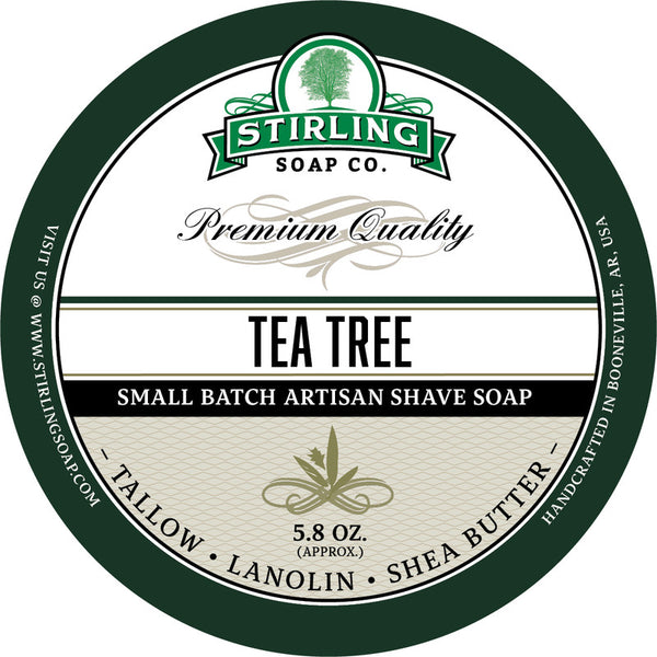 Stirling Soap Co. Tea Tree Shave Soap