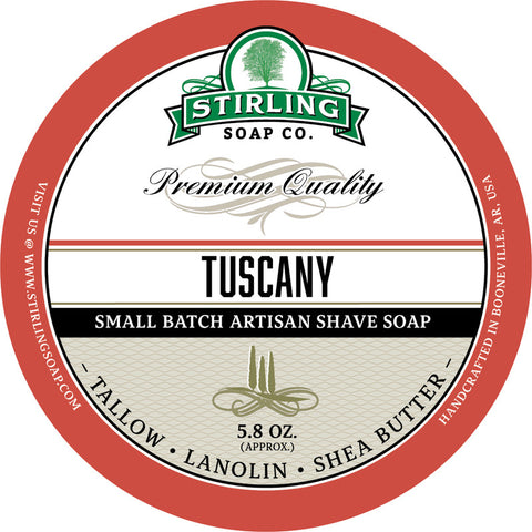 Stirling Soap Co. Tuscany Shave Soap