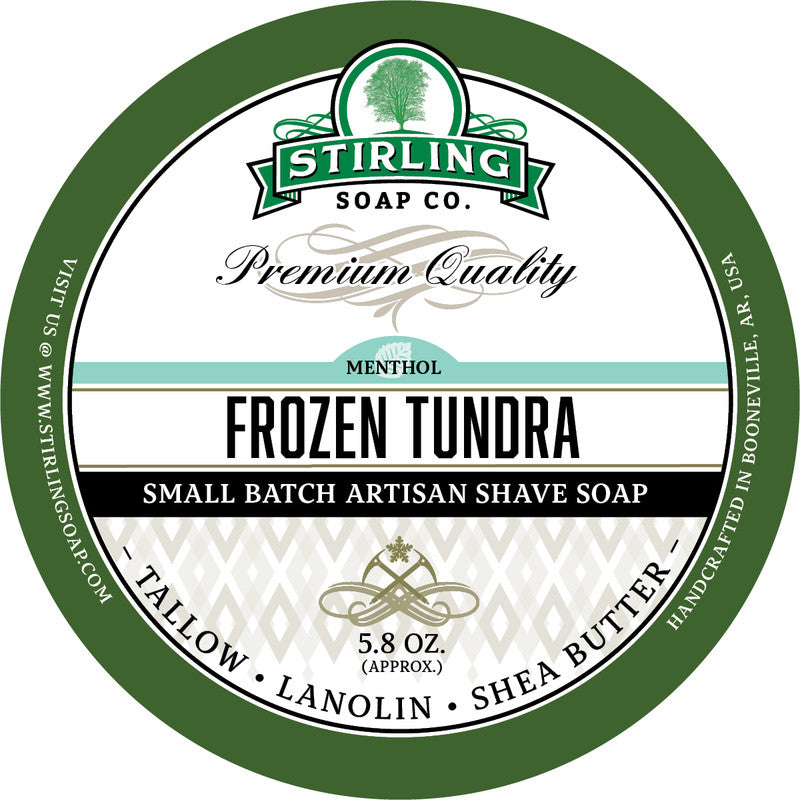 Stirling Soap Co. Frozen Tundra Shave Soap