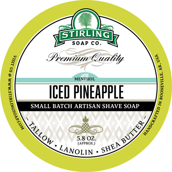Stirling Soap Co. Iced Pineapple Shave Soap