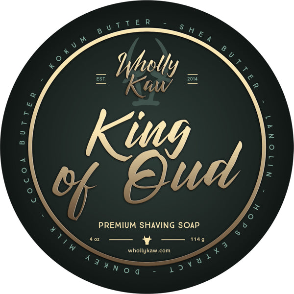 Wholly Kaw King of Oud Shave Soap