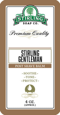 Stirling Gentleman Aftershave Balm