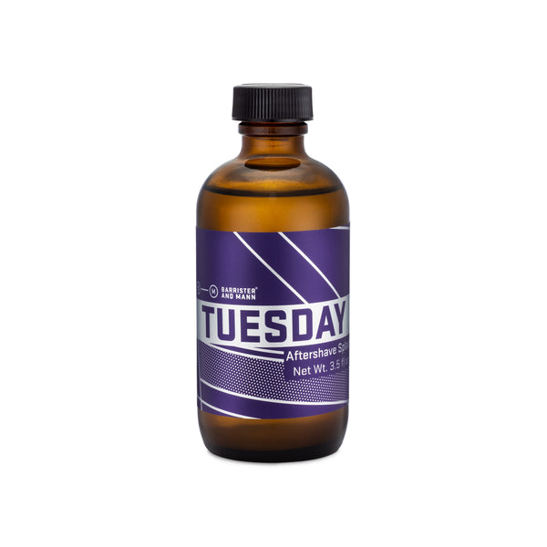 Barrister and Mann Tuesday Alcohol Aftershave