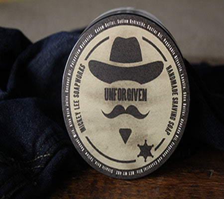 Mickey Lee Soapworks Unforgiven Shave Soap