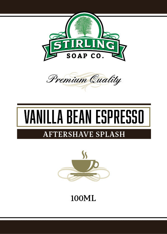 Stirling Vanilla Bean Espresso Aftershave Splash