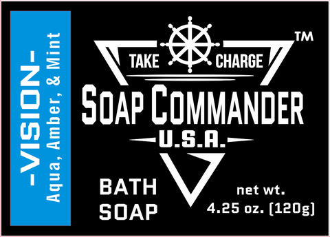 Soap Commander Vision Bath Soap