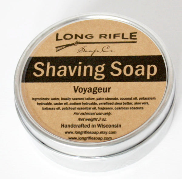 Long Rifle Voyageur Shave Soap