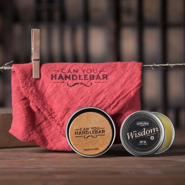 "Can You Handlebar ""Wisdom"" Beard Care Kit"