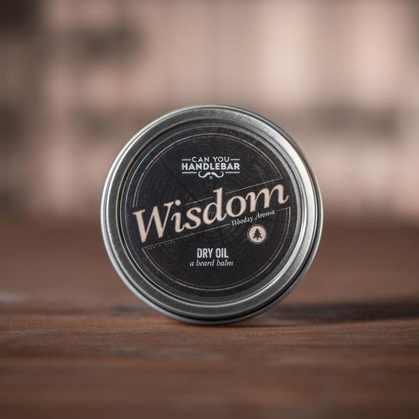 "Can You Handlebar ""Wisdom"" Beard Balm"