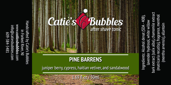 Catie's Bubbles Pine Barrens Aftershave Tonic
