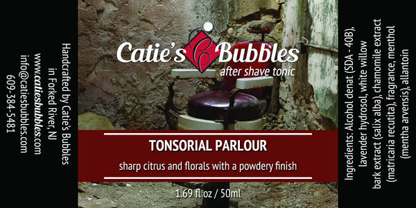 Catie's Bubbles Tonsorial Parlour Aftershave Tonic