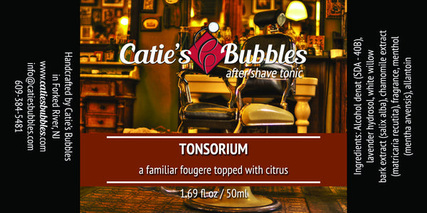 Catie's Bubbles Tonsorium Aftershave Tonic