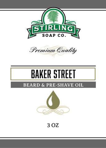 Stirling Baker Street Beard & Pre-Shave Oil