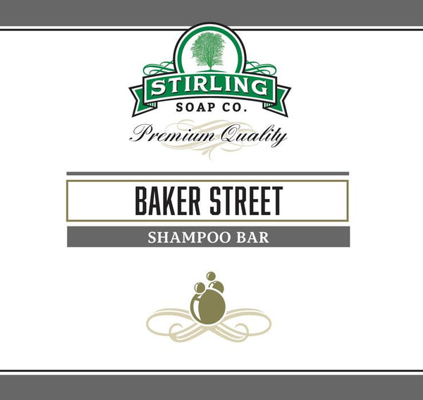 Stirling Baker Street Shampoo Bar