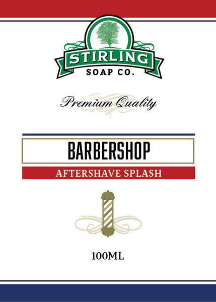 Stirling Barbershop Aftershave Splash