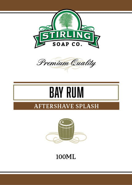 Stirling Bay Rum Aftershave Splash