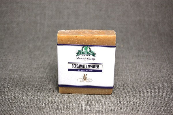 Stirling Bergamot Lavender Shampoo Bar
