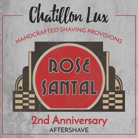 Chatillon Lux Rose Santal Aftershave