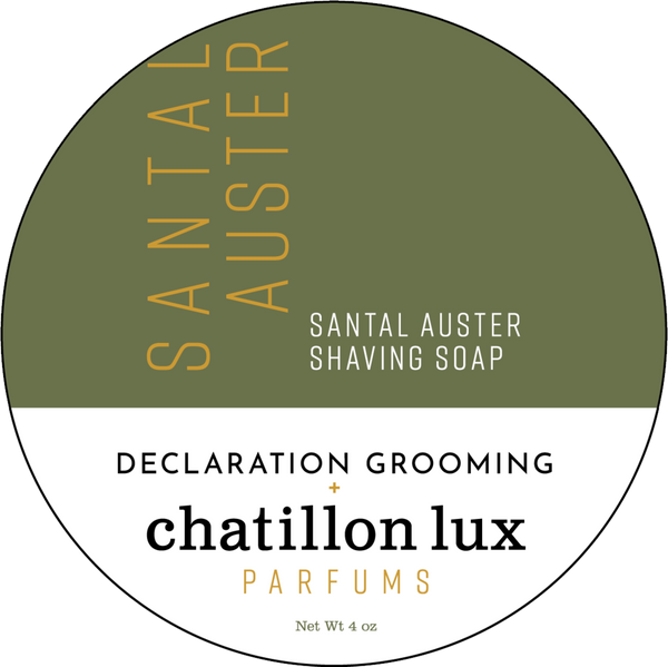 Declaration Grooming/Chatillon Lux Santal Auster Shave Soap