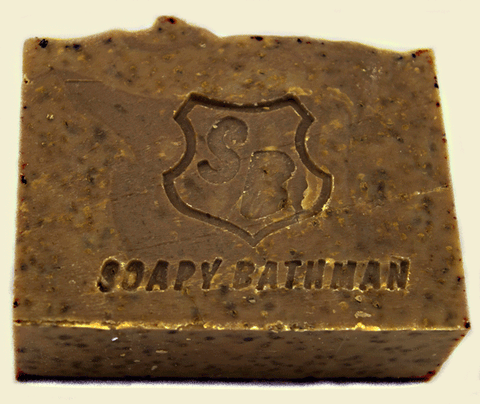 Soapy Bathman Cup of Joe Bar Soap