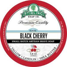 Stirling Soap Co. Glacial Black Cherry Shave Soap