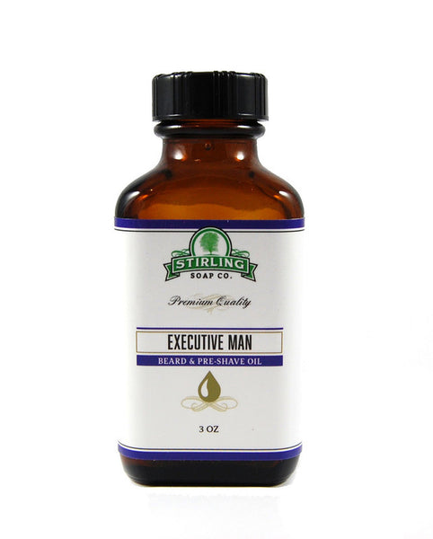 Stirling Executive Man Beard & Pre-Shave Oil