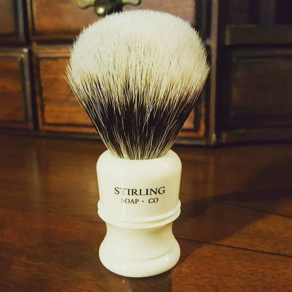 Stirling 24mm Finest Badger Shave Brush