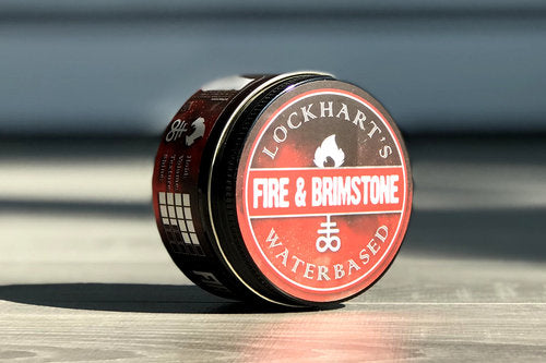 Lockhart's Fire and Brimstone Water Base Pomade