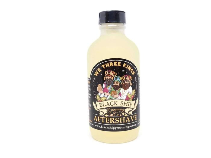 Black Ship Grooming Co. We Three Kings Aftershave Splash
