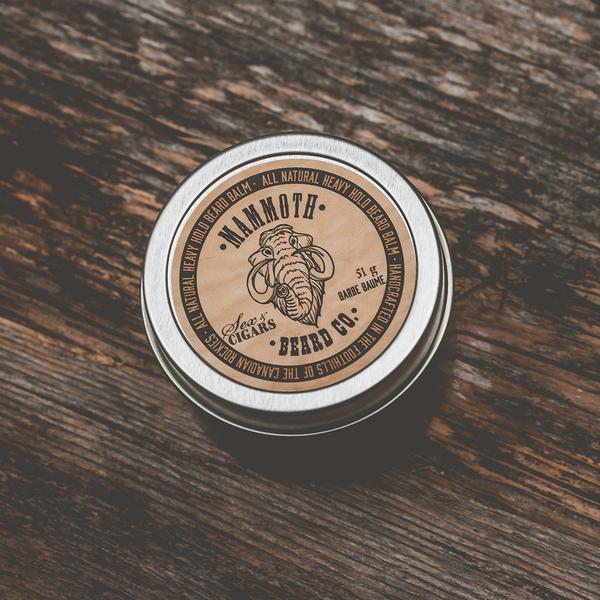 Mammoth Beard Co. Sex & Cigars Heavy Hold Beard Balm