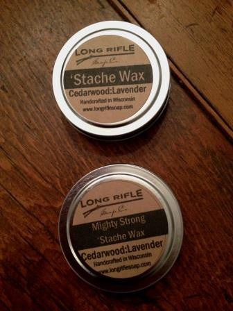 Long Rifle Voyageur Mighty Strong 'Stache Wax